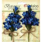Petaloo - Botanica Collection - Floral Embellishments - Velvet Lilacs - Royal Blue