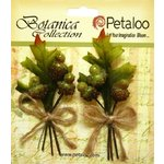 Petaloo - Botanica Collection - Floral Embellishments - Beaded Acorn Picks