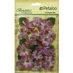 Petaloo - Botanica Collection - Floral Embellishments - Vintage Velvet Dogwoods - Lavender