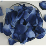 Petaloo - Botanica Collection - Floral Embellishments - Rose Petals - Navy
