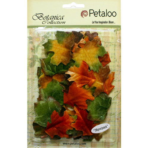 Petaloo - Botanica Collection - Floral Embellishments - Fall Leaves