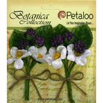 Petaloo - Botanica Collection - Floral Embellishments - Flowering Berry Picks - Purple Berry