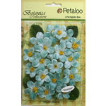 Petaloo - Botanica Collection - Floral Embellishments - Cherry Blossom - Light Teal