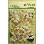 Petaloo - Botanica Collection - Floral Embellishments - Cherry Blossom - Cream
