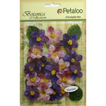 Petaloo - Botanica Collection - Floral Embellishments - Cherry Blossom - Purple