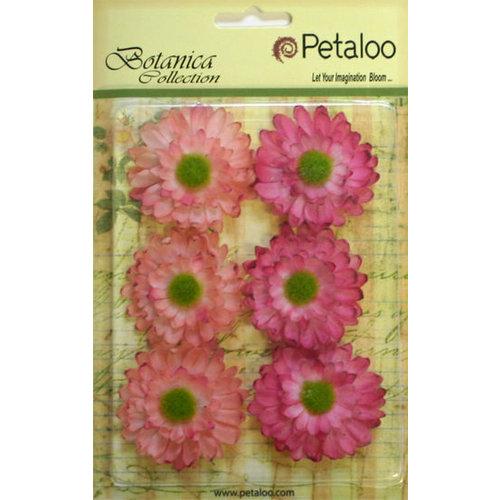 Petaloo - Botanica Collection - Floral Embellishments - Gerber Daisy - Light Pink