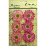 Petaloo - Botanica Collection - Floral Embellishments - Gerber Daisy - Light Pink