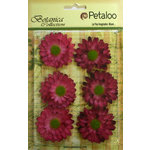 Petaloo - Botanica Collection - Floral Embellishments - Gerber Daisy - Fuchsia