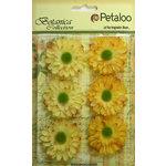 Petaloo - Botanica Collection - Floral Embellishments - Gerber Daisy - Yellow