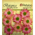 Petaloo - Botanica Collection - Floral Embellishments - Mini Gerber Daisy - Light Pink