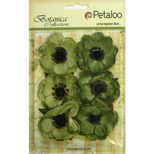 Petaloo - Botanica Collection - Floral Embellishments - Anenome - Pistachio