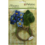 Petaloo - Botanica Collection - Floral Embellishments - Blossom Bulk Pack - Blue