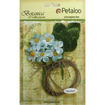 Petaloo - Botanica Collection - Floral Embellishments - Blossom Bulk Pack - Teal