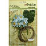 Petaloo - Botanica Collection - Floral Embellishments - Blossom Bulk Pack - Teal
