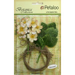 Petaloo - Botanica Collection - Floral Embellishments - Blossom Bulk Pack - Cream