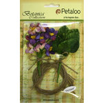 Petaloo - Botanica Collection - Floral Embellishments - Blossom Bulk Pack - Purple