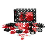 Petaloo - It's Magic Mickey Collection - Flowers - Daisy Box Blend - Small - Red and Black