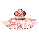 Petaloo - Yummy Cupcake Collection - Flowers - Dahlia Box Blend - Small - Pink and Red, CLEARANCE