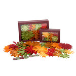 Petaloo - Flora Doodles Collection - Handmade Flowers - Value Pack - Glittered Daisy Blend - Fall