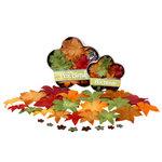 Petaloo - Flora Doodles Collection - Handmade Flowers - Glittered Dahlia Box Blend - Fall, CLEARANCE