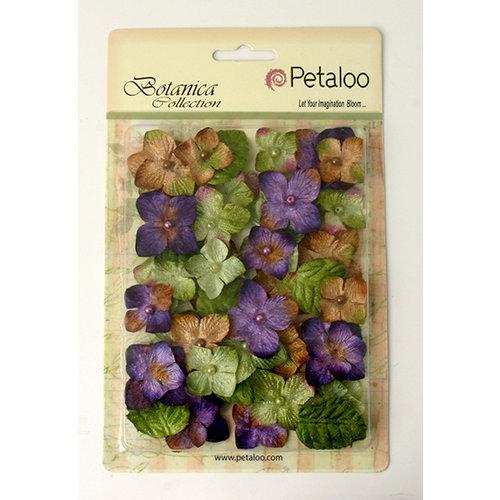 Petaloo - Chantilly Collection - Velvet Hydrangeas - Violet
