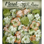 Petaloo - Chantilly Collection - Velvet Hydrangeas - Sage