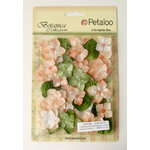 Petaloo - Chantilly Collection - Mixed Blooms Flowers - Sienna