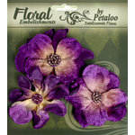 Petaloo - Chantilly Collection - Velvet Wild Roses - Purple