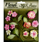 Petaloo - Chantilly Collection - Velvet Mini Blossoms - Rose