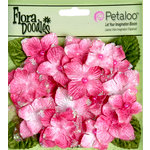 Petaloo - Flora Doodles Collection - Velvet Hydrangeas - Fuschia