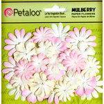 Petaloo - Flora Doodles Collection - Mulberry Flowers - Mini - Delphiniums - Blush