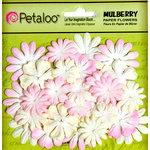 Petaloo - Flora Doodles Collection - Mulberry Flowers - Mini - Delphiniums - Blush