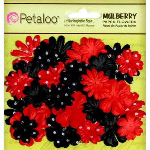 Petaloo - Flora Doodles Collection - Mulberry Flowers - Mini - Delphiniums - Its Magic