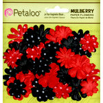 Petaloo - Flora Doodles Collection - Mulberry Flowers - Mini - Delphiniums - Its Magic