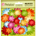 Petaloo - Flora Doodles Collection - Mulberry Flowers - Mini - Delphiniums - Brites
