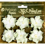 Petaloo - Penny Lane Collection - Floral Embellishments - Wild Roses - Mulberry Street - Green