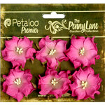Petaloo - Penny Lane Collection - Floral Embellishments - Wild Roses - Mulberry Street - Fuschia