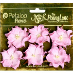 Petaloo - Penny Lane Collection - Floral Embellishments - Wild Roses - Mulberry Street - Pink