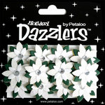Petaloo - Dazzlers Collection - Glittered Flowers - Winter Wonderland - Poinsettia