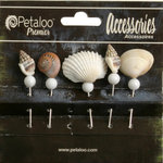 Petaloo - Metal Stick Pins - Sea Shell
