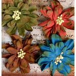 Petaloo - Darjeeling Collection - Floral Embellishments - Wild Rose