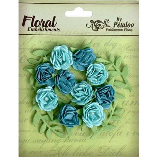 Petaloo - Devon Collection - Petites Mini Rose - Blue