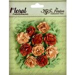Petaloo - Devon Collection - Petites Mini Rose - Tan and Brown