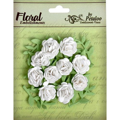 Petaloo - Devon Collection - Petites Mini Rose - White