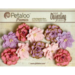 Petaloo - Darjeeling Collection - Floral Embellishments - Dahlias - Hyacinth