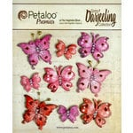 Petaloo - Darjeeling Collection - Butterflies - Red Raspberry