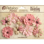Petaloo - Printed Darjeeling Collection - Floral Embellishments - Wild Blossoms - Medium - Pink