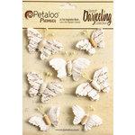 Petaloo - Printed Darjeeling Collection - Wild Butterflies - White