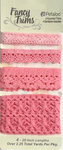 Petaloo - Printed Darjeeling Collection - Trim - Crochet Lace - Pink - 2.25 Yards