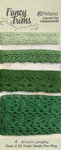 Petaloo - Printed Darjeeling Collection - Trim - Crochet Lace - Green - 2.25 Yards